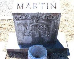 Mary Annie <I>McKenzie</I> Martin