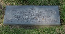 Clarence A Buckles