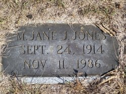 Mary Jane Jones