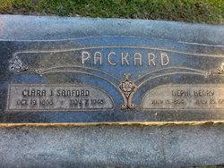 Clara Jane <I>Sanford</I> Packard