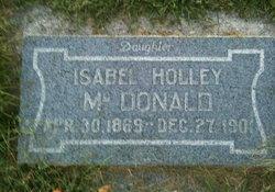 Isabell <I>Holley</I> McDonald