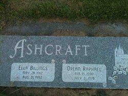 Elva Billings Ashcraft