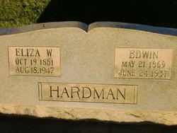 Eliza <I>Watson</I> Hardman