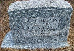 Ollie Marvin <I>Bobbitt</I> Appling