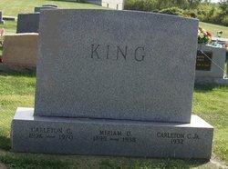 Carleton C King, Jr
