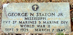 Pvt George Norfleet Staton, Jr
