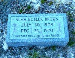 Alma <I>Butler</I> Brown