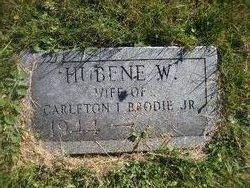 Hubene <I>Worcester</I> Brodie