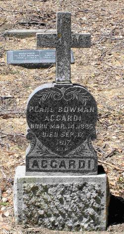 Pearl <I>Bowman</I> Accardi