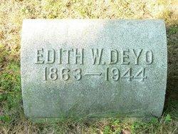 Edith Austin <I>Weld</I> Deyo