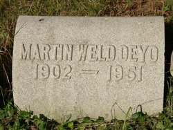 Martin Weld Deyo