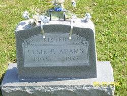 Elsie F Adams