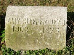 Amy G <I>Sleeper</I> Deyo
