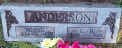 Bessie A. <I>Gipson</I> Anderson