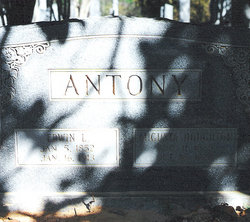 Nancy Augusta <I>Houghton</I> Antony