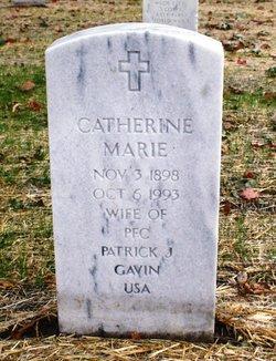 Catherine Marie <I>Rubbelke</I> Gavin