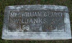 Dovie Alee <I>Parks</I> Wilbanks