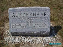 Margaret Agnes <I>Roediger</I> Aufderhaar