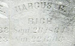 Marcus Gillett Rich