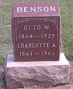 Charlotte Augusta <I>Astle</I> Benson