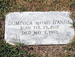 "Dominica ""Mayme"" <I>LaLena</I> D'Anna"