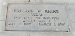 Wallace William Rhine