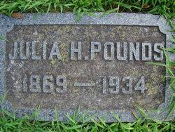 Julia <I>Huntoon</I> Pounds