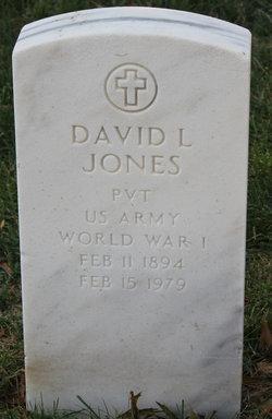 Pvt David L Jones
