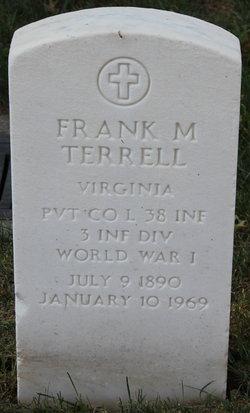 Pvt Frank Martin Terrell, Sr