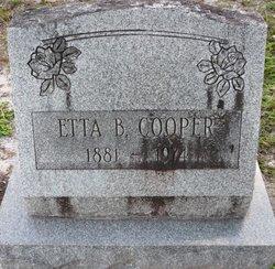 Etta B Cooper