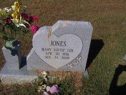 Mary Louise <I>Cox</I> Jones