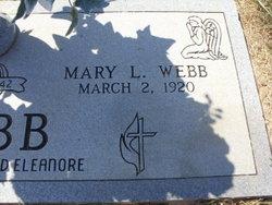 Mary Louise <I>Burtch</I> Webb
