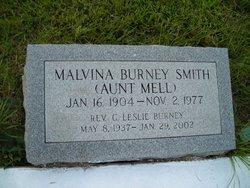 """Malvina """"Aunt Mell"""" <I>Burney</I> Smith"""