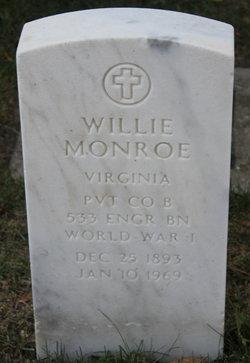 Pvt Willie Monroe
