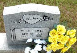 Cleo Lewis
