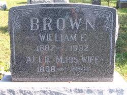 Allie M. <I>Davis</I> Brown
