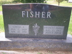 Frances <I>Ferro</I> Fisher
