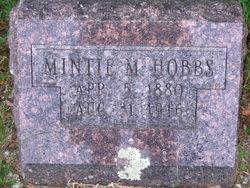 Mintie M. <I>Hayes</I> Hobbs
