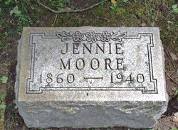 Jennie <I>Pease</I> Moore