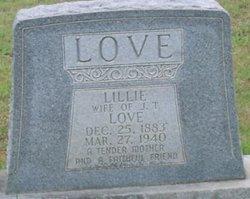 Lillie <I>Byrd</I> Love