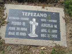 Angela M Tepezano