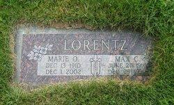 Marie O <I>Bieker</I> Lorentz