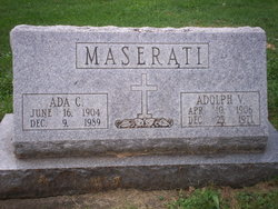 Ada C. <I>Reed</I> Maserati