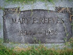 Mary E Reeves