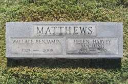 Helen Harvey McClung Matthews