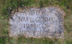 """Sr Mary Gemma """"Rosa"""" Herriger"""