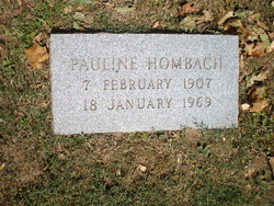 Pauline <I>Hombach</I> Adams