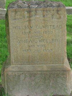 Abigail <I>Weller</I> Olmstead