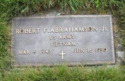 Robert F Abrahamson, Jr