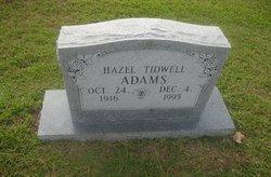 Hazel <I>Tidwell</I> Adams